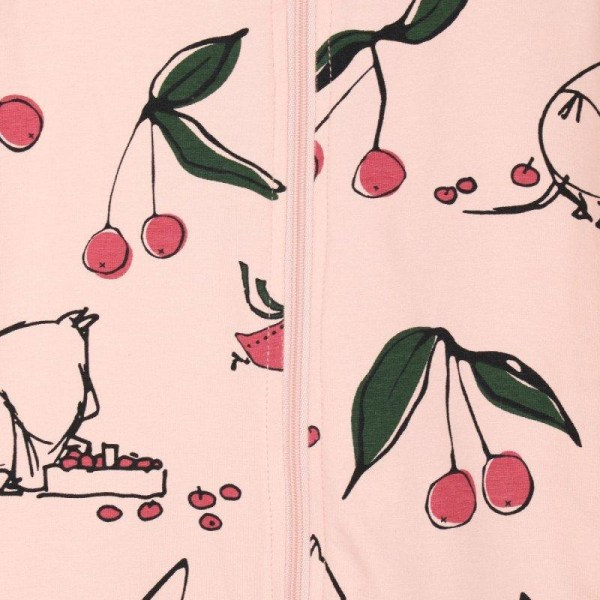 Körsbär-pyjamas rosa  Martinex LightPink 68