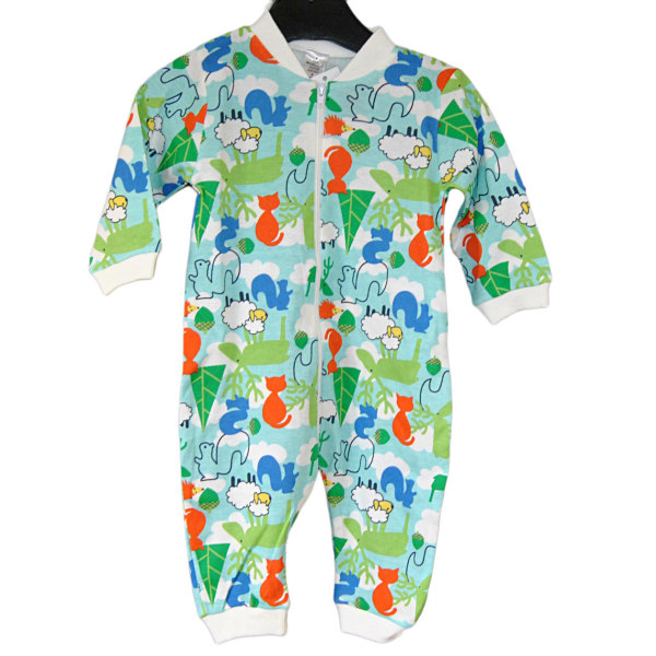 Pyjamasoverall, Skogen, Fixoni MultiColor 74