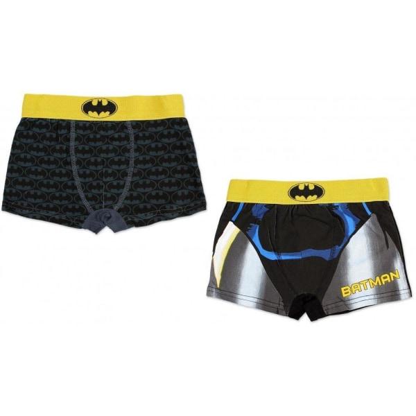 2-pack Boxerkalsonger Batman Black 9/10 år 134-140cm