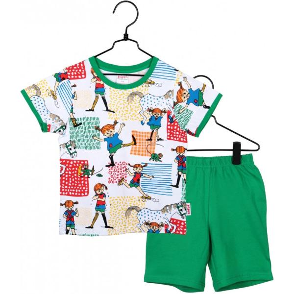 Pippi Långstrump Pyjamas, Villekulla, Martinex Green 86