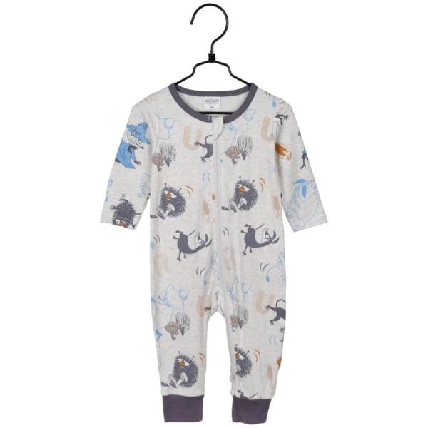 Mumin Fart pyjamas grå Martinex LightGrey 68