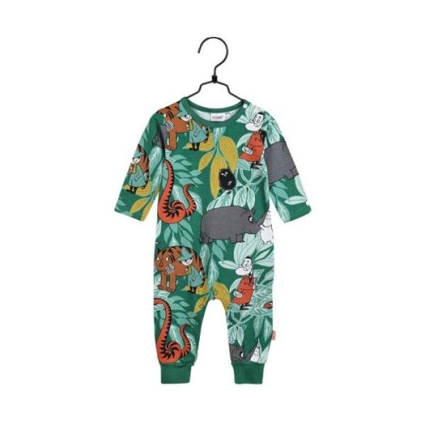Mumin Pyjamas I Djungeln (Grön) 56 cl Grön