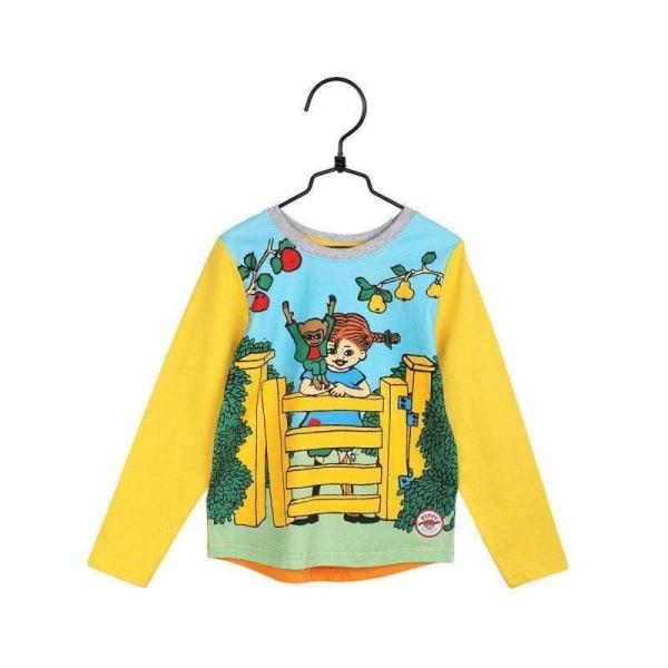 Pippi Långstrump  Vid grinden-tröja gul Yellow 104