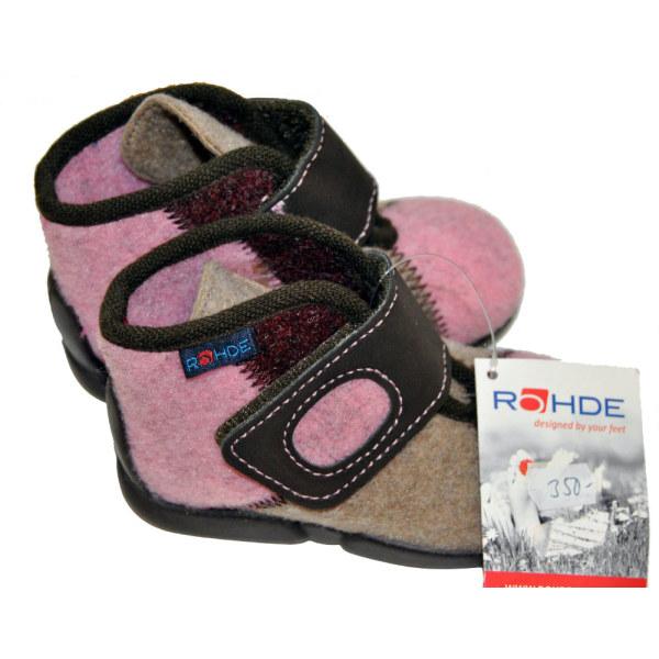 Rohde barn tofflor/skor 18 (12,2 cm)