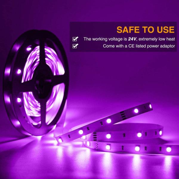 LED-List Stripe med RGB LED-Strip 15 meter SMD 5050 ljusslinga