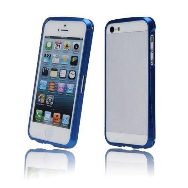 AluCurve (Blå) iPhone 5 Aluminiumbumper