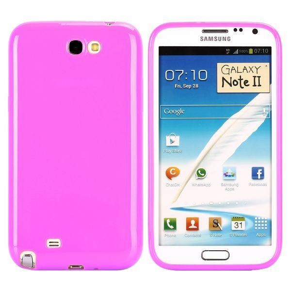 Candy Colors (Ljuslila) Samsung Galaxy Note 2 Skal