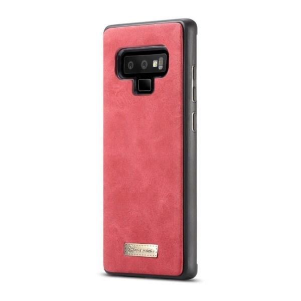 CASEME Samsung Galaxy Note 9 mobilfodral delad läder plast a