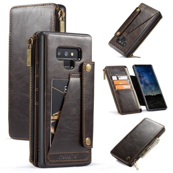 CASEME Samsung Galaxy Note 9 mobilfodral syntetläder silikon