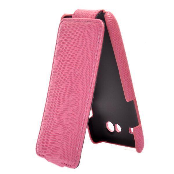 Croco Samsung Galaxy S Advance Läderfodral (Rosa)