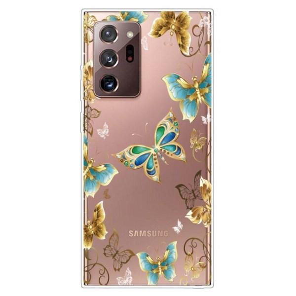 Deco Samsung Galaxy Note 20 Ultra case - Vivid Butterflies