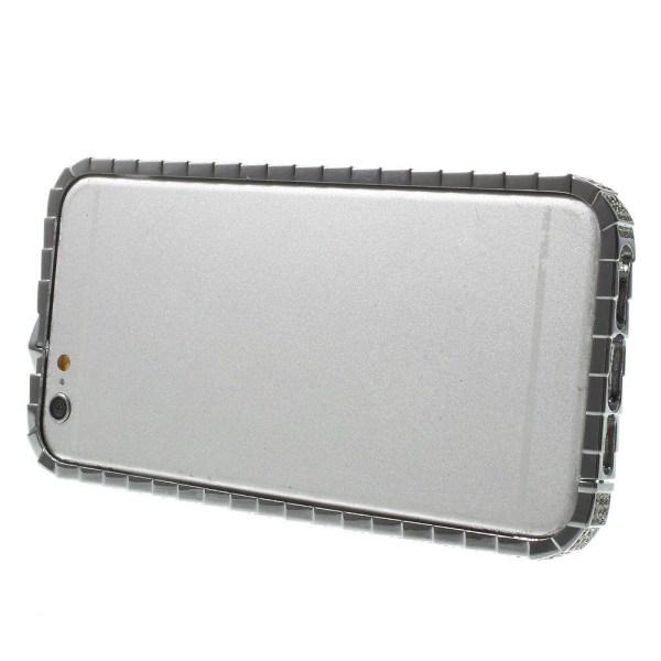 Diamond (Silver) iPhone 6 Metall Bumper