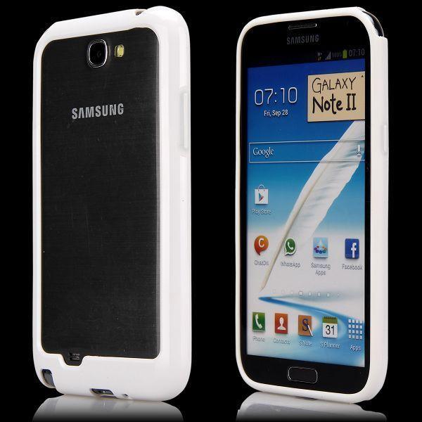 Dual Compund (Vit) Samsung Galaxy Note 2-Bumper