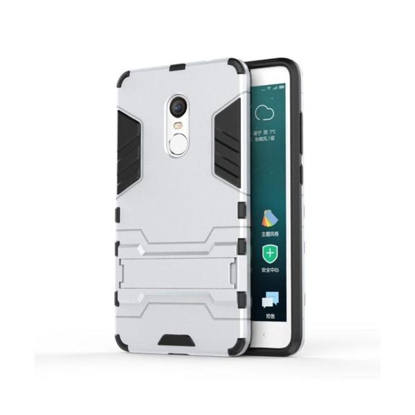 Hårderåde Xiaomi Redmi Note 4 Hybridskal - Silver