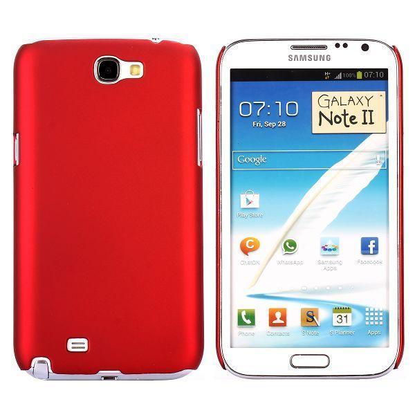 Hårdskal (Röd) Samsung Galaxy Note 2 Skal