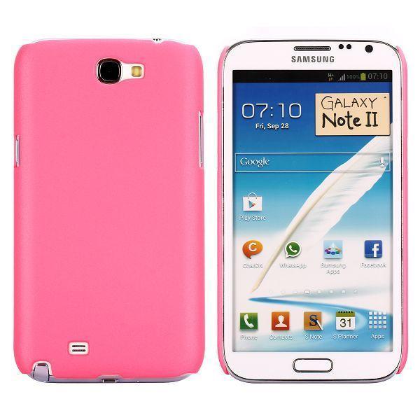 Hårdskal (Rosa) Samsung Galaxy Note 2 Skal