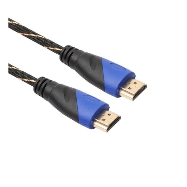 HDMI kabel i 0.5M mesh lager flätad V1.4 AV HD 3D for PS3 Xb