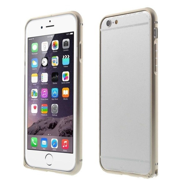 Hippo (Champagne) iPhone 6 Metall Bumper