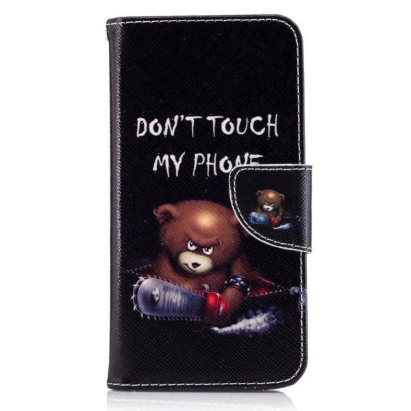 Huawei Honor 8 Lite mönstrat plånboksfodral i läder - Bea