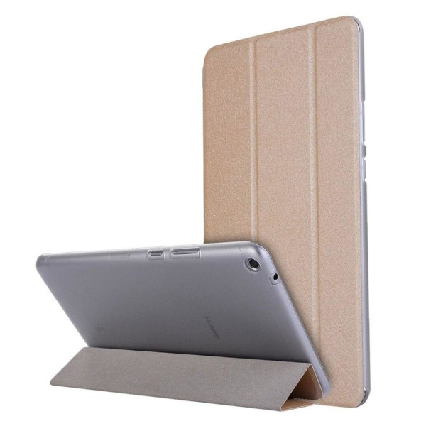 Huawei MediaPad T3 8.0 Enfärgat läder fodral - Guld