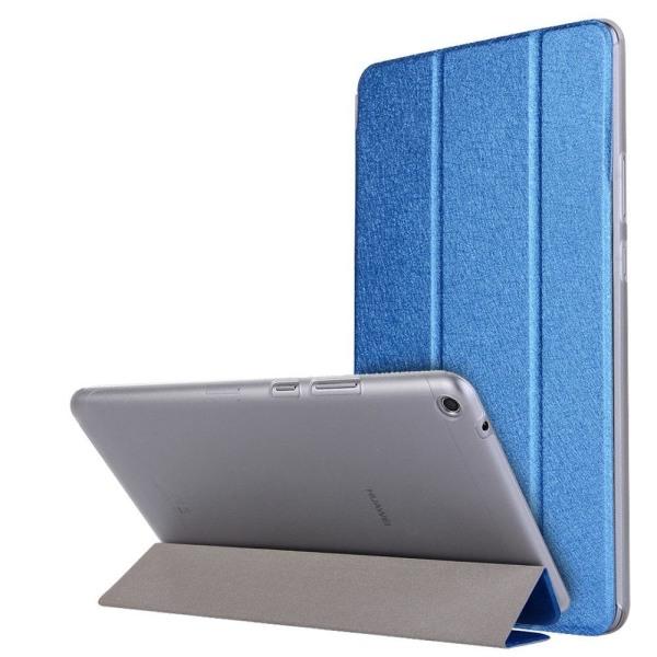Huawei MediaPad T3 8.0 Enfärgat läder fodral - Mörk blå