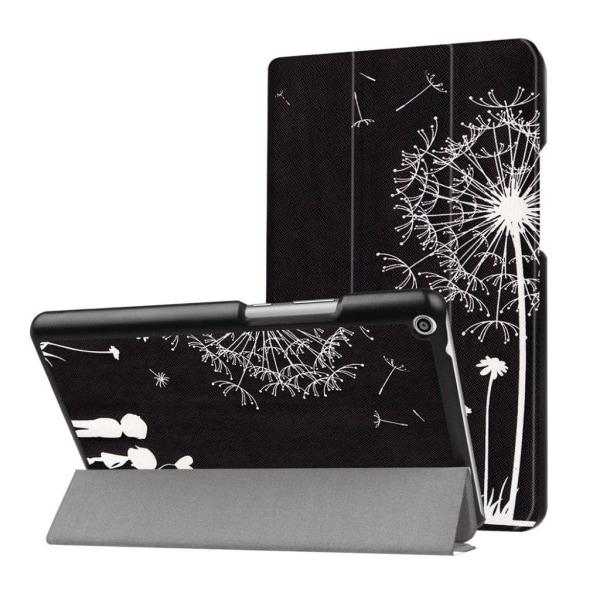 Huawei MediaPad T3 8.0 Läder fodral med unikt motiv - Maskro