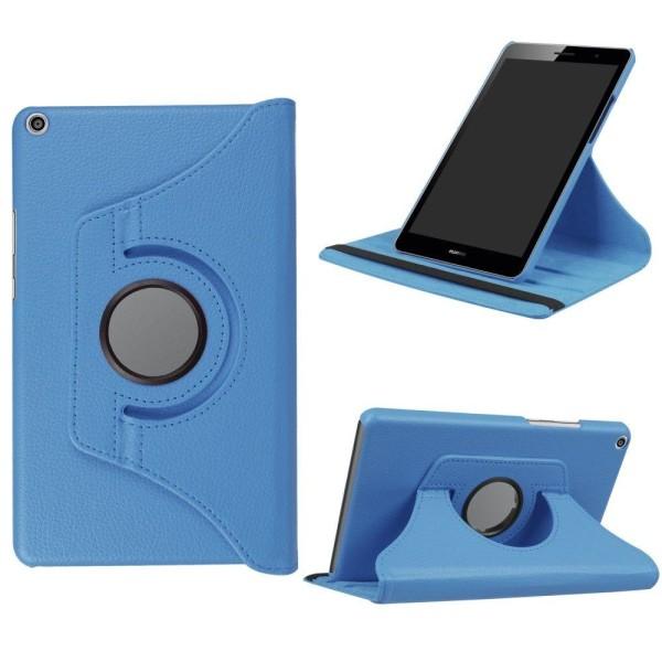 Huawei MediaPad T3 8.0 Roterbart fodral - Blå