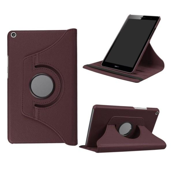 Huawei MediaPad T3 8.0 Roterbart fodral - Brun