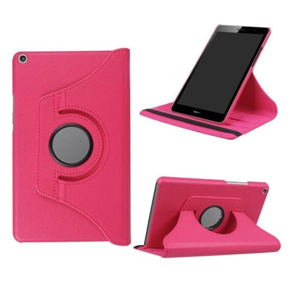 Huawei MediaPad T3 8.0 Roterbart fodral - Rosa