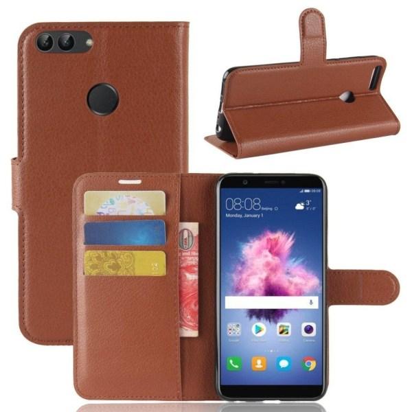 Huawei P Smart Snyggt enfärgat fodral - Brun