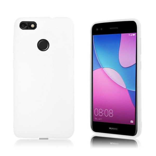 Huawei P9 Lite Mini Enfärgat silikon skal - Vit