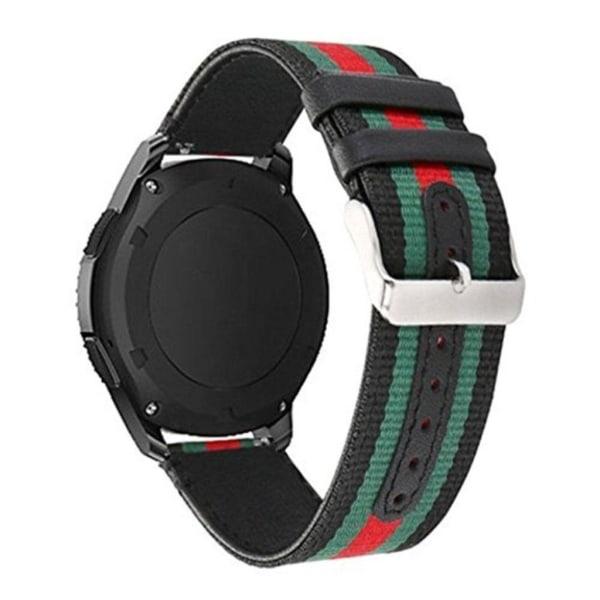 Huawei Watch GT 22mm nylon klockband - Svart