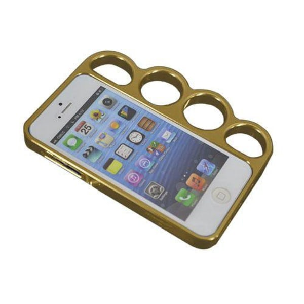 iKnucks (Guld) iPhone 5/5S Metallbumper