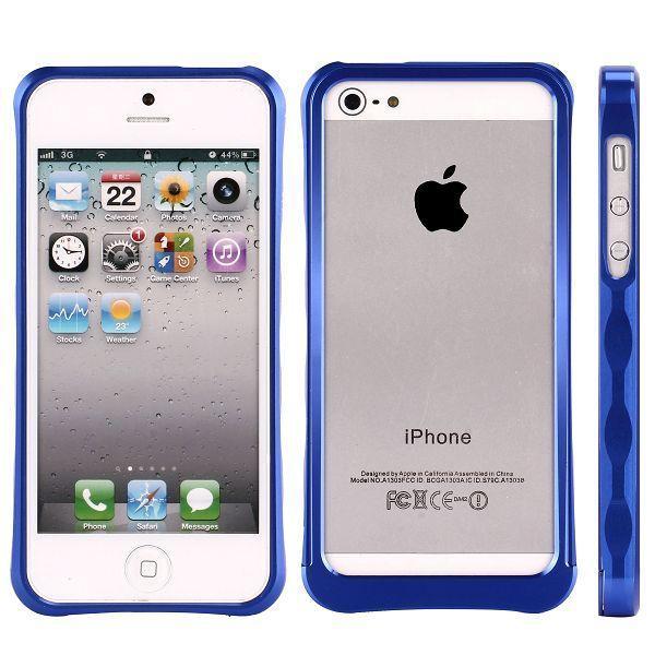 IntegrationSys-II (Mörkblå) iPhone 5 Aluminiumbumper