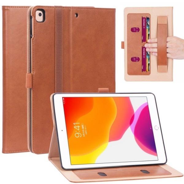 iPad 10.2 (2019) cool leather flip case - Brown