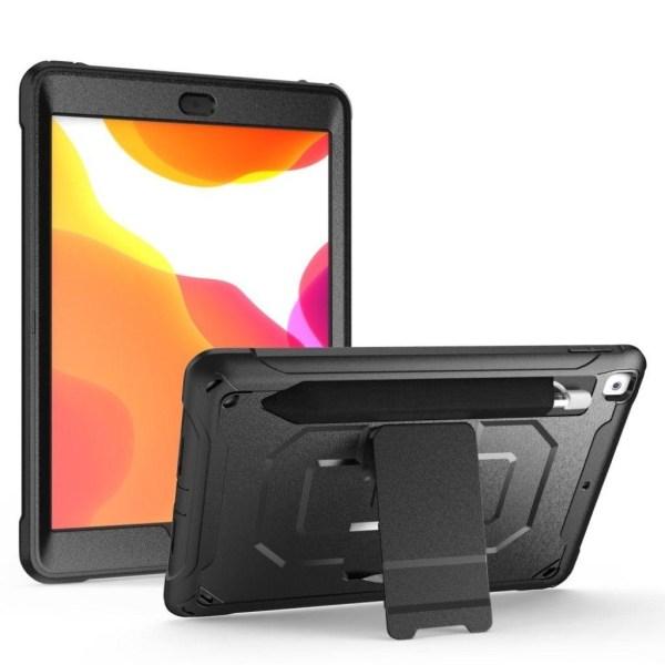 iPad 10.2 (2019) durable armor case - Black
