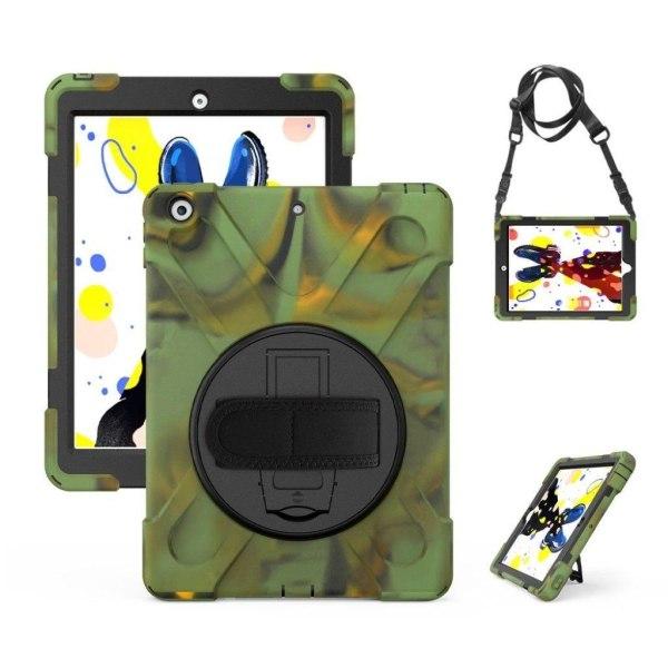 iPad 10.2 (2019) X-Shape hybrid case - Camouflage