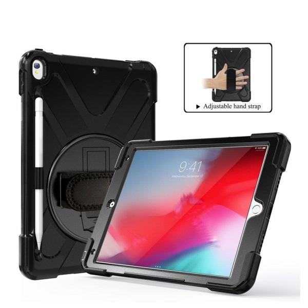 iPad Air (2019) X-Shape roterbart fodral - Svart