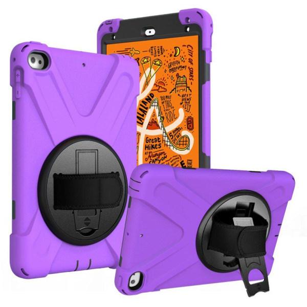 iPad Mini (2019) X-Shape durable hybrid case - Purple