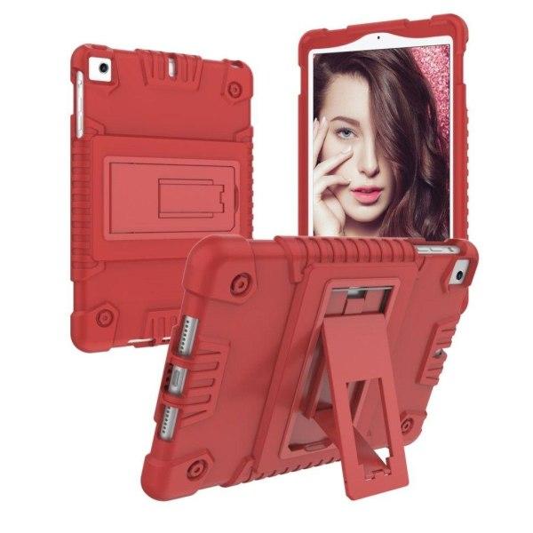 iPad mini 4-3-2-1 skyddshölje silikon plast - Röd