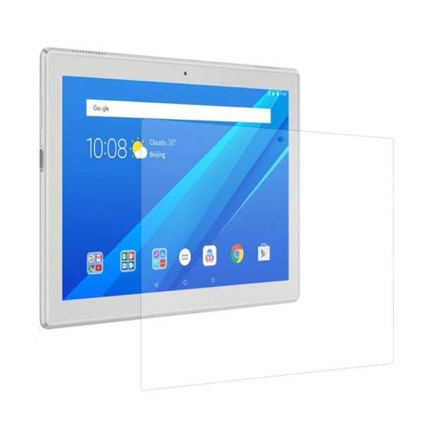 Lenovo Tab 4 Plus 10 Tunt extra glas - Genomskinligt