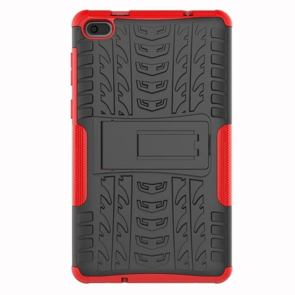 Lenovo Tab E7 cool tyre hybrid case - Red