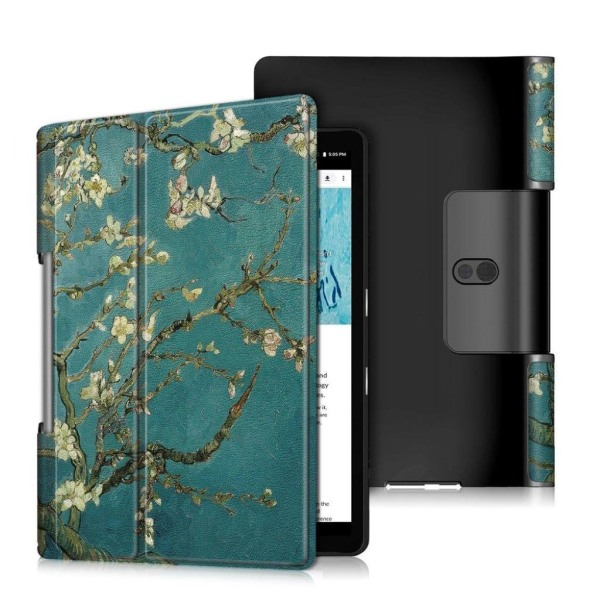 Lenovo Yoga Smart Tab 10.1 tri-fold pattern leather flip cas