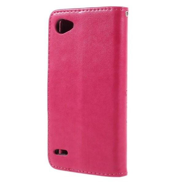 LG Q6 M700N (EU utgåvan) och Q6 Plus mobilfodral stående läg