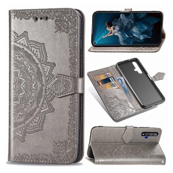 Mandala Honor 20 / 20S Flip case - Grey