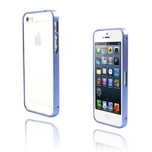 Metallix (Blå) iPhone 5 / 5S Metall-Bumper