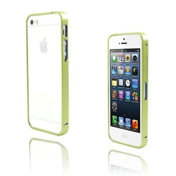 Metallix (Grön) iPhone 5 / 5S Metall-Bumper