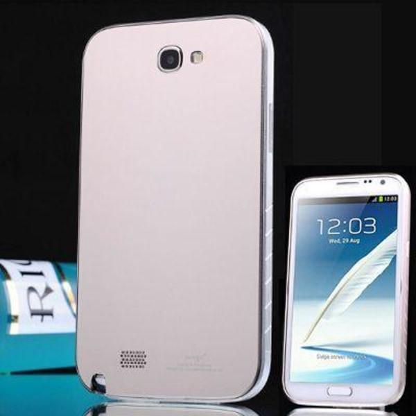 Mighty (Silver) Samsung Galaxy Note 2 Skal (Aluminium)