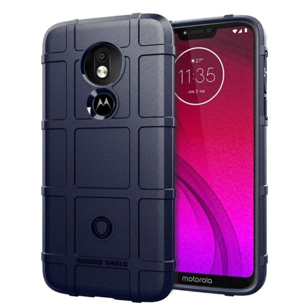 Motorola G7 Power anti-shock fodral - Blå