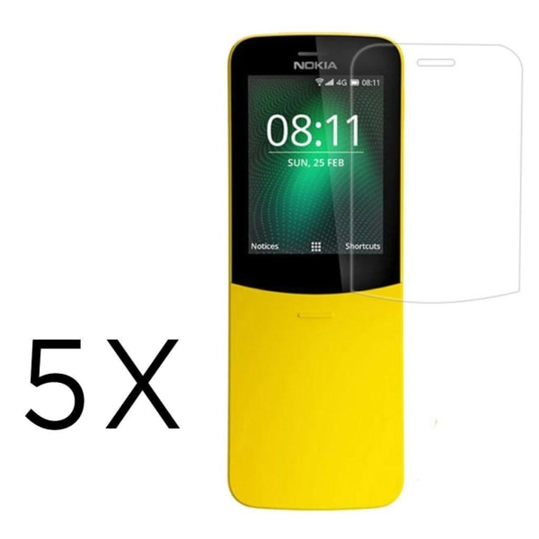 Nokia 8110 clear LCD screen protector - 5-Pack